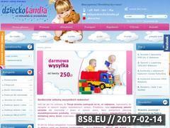 Miniaturka domeny www.dzieckolandia.pl