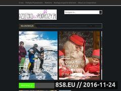 Miniaturka domeny www.dzieckowpodrozy.pl