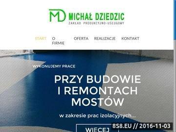 Zrzut strony M. Dziedzic - posadzki