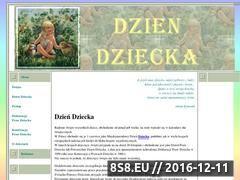 Miniaturka domeny www.dziendziecka.swieta.biz