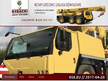 Zrzut strony Montaż banerów Ostróda