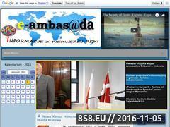 Miniaturka domeny e-ambasada.pl