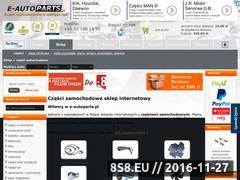 Miniaturka domeny www.e-autoparts.pl