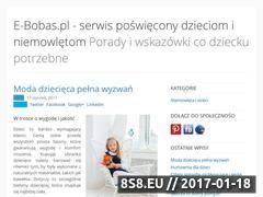 Miniaturka domeny www.e-bobas.pl