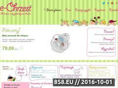 Miniaturka domeny www.e-chrzest.pl