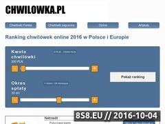 Miniaturka domeny www.e-chwilowki.pl