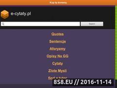 Miniaturka domeny e-cytaty.pl
