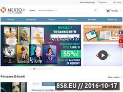Miniaturka domeny e-czytadlo.nextshop.pl