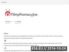 Miniaturka domeny www.e-filmypromocyjne.pl
