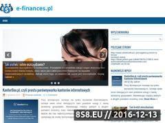 Miniaturka domeny www.e-finances.pl