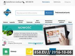 Miniaturka domeny e-forum.pl