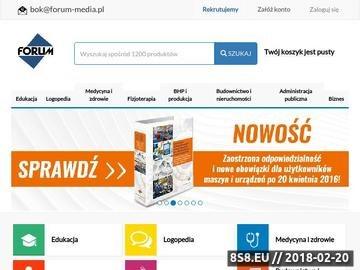 Zrzut strony E-forum.pl