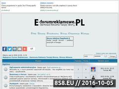Miniaturka domeny e-forumreklamowe.pl