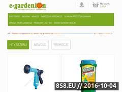 Miniaturka domeny e-gardenion.pl
