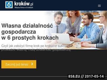 Zrzut strony Dotacje unijne, porady podatkowe oraz porady inwestycyjne