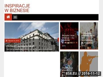 Zrzut strony E Inspirator.pl - Rozwój Duchowy