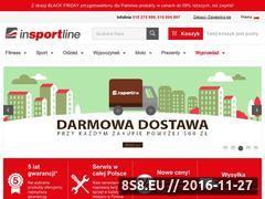 Miniaturka domeny e-insportline.pl