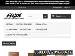 Miniaturka domeny www.e-introligator.pl