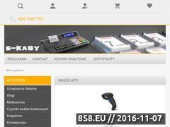 Miniaturka domeny www.e-kasy.com.pl