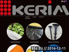 Miniaturka domeny e-kerim.pl