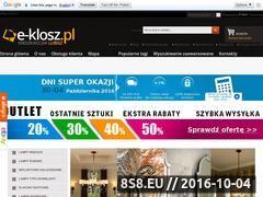 Miniaturka domeny www.e-klosz.pl