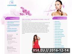 Miniaturka domeny www.e-kosmetyki.com.pl