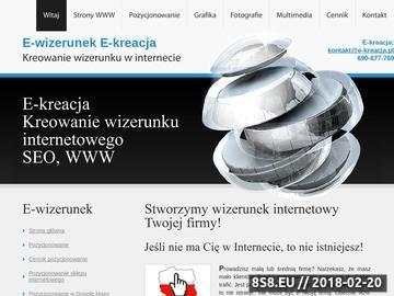 Zrzut strony Pozycjonowanie i projektowanie stron w Białystoku
