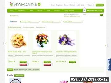 Zrzut strony Kup i wyślij kwiaty przez internet