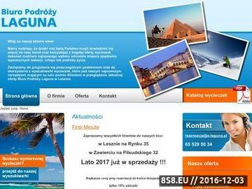 Zrzut strony Laguna wakacje