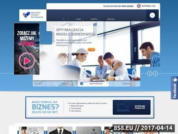 Zrzut strony E-biznes