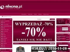 Miniaturka domeny www.e-nivena.pl