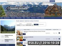 Miniaturka domeny www.e-noclegi24.pl