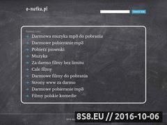 Miniaturka domeny e-nutka.pl