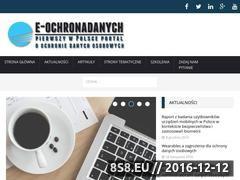 Miniaturka domeny e-ochronadanych.pl
