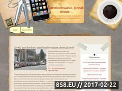 Miniaturka domeny www.e-odszkodowanie.net.pl