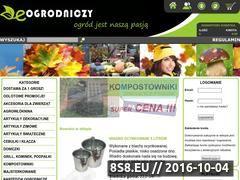 Miniaturka domeny e-ogrodniczy.com.pl