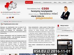 Miniaturka domeny www.e-projektowanie.com