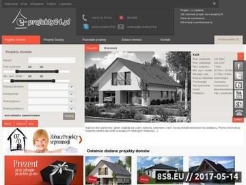Zrzut strony E-Projekty24.pl - Projekty Domów Jednorodzinnych