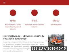 Miniaturka Samochody pożarnicze i sprzęt pożarniczy (www.e-prometeusz.eu)
