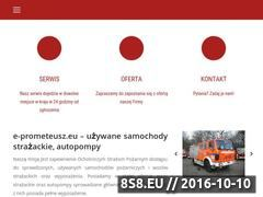 Miniaturka domeny www.e-prometeusz.eu
