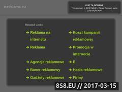 Miniaturka domeny e-reklama.eu