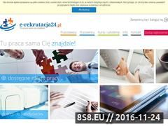 Miniaturka domeny e-rekrutacja24.pl