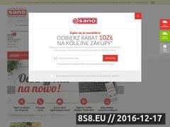 Miniaturka domeny www.e-sano.pl