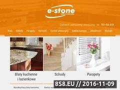 Miniaturka domeny e-stone.pl