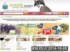 Miniaturka domeny e-szop.szczecin.pl