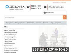 Miniaturka domeny e-tablice.com