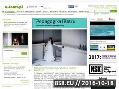 Miniaturka domeny e-teatr.pl