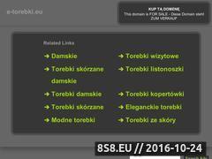 Miniaturka domeny e-torebki.eu