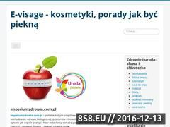 Miniaturka domeny www.e-visage.pl