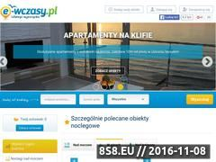 Miniaturka domeny e-wczasy.pl